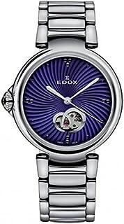 EDOX - La Passion Reloj de Mujer automático 33mm Correa de Acero 85025 3M BUIN