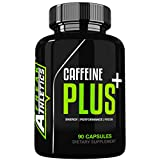 Caffeine Plus+ by Freak Athletics - Combining Caffeine 100mg, L-Theanine 200mg to Create The Ultimate Nootropic Supplement - Made in The UK High Quality Caffeine Tablets Guaranteed