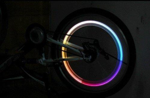 Deet® TM877 - 2 x color del arco iris CAMBIO DE NEUMÁTICOS...