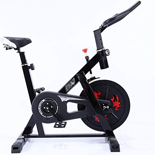 Hometrainers Hometrainer Bicycle,indoor Hometrainer Crosstrainer, Silent Spin Hometrainer, Groot Bidirectioneel Vliegwiel, Stuur En Comfortabele Stoel (Color : Red)