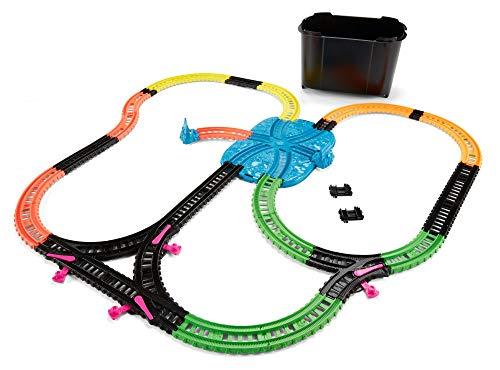 Il Trenino Thomas - Track Master Set di Gioco per Trenini Motorizzati, 35 Pezzi Fosforescenti, per Bambini 3+ Anni, FJL38