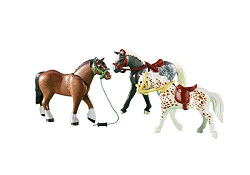 Playmobil 6360 3 Pferde (Folienverpackung)