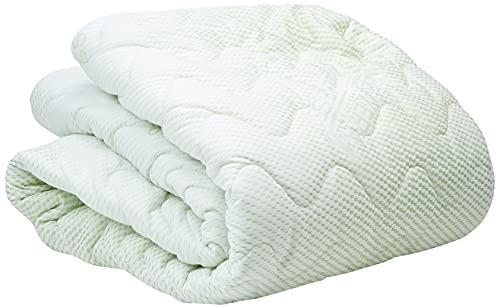 Komfort Matratzenbezug für Matratzen im Gesamtmaß 90x200cm - 16 - 18 cm hoch - Doppeltuch mit ALOE VERA - Allergiker geeignet - 60 Grad waschbar - 4-seitiger Reißverschluss