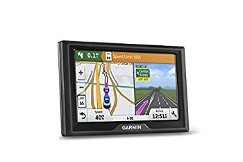 Garmin Drive 50 USA LM GPS Navigator System with Lifetime Maps Spoken Turn-By-Turn Directions Direct Access Driver Alerts and Foursquare Data  Renewed
