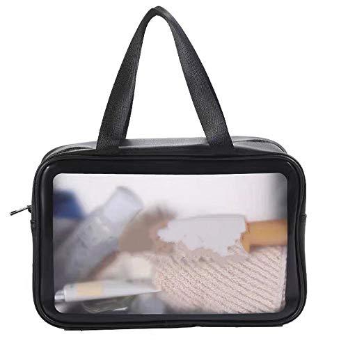 Kosmetik-Aufbewahrungstasche Transparente Kosmetik-Tasche Reisewaschbeutel mit großer Kapazität