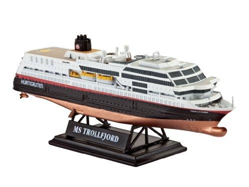 ドイツレベル 1/1200 MS トロールフィヨルド 客船 05815 プラモデル