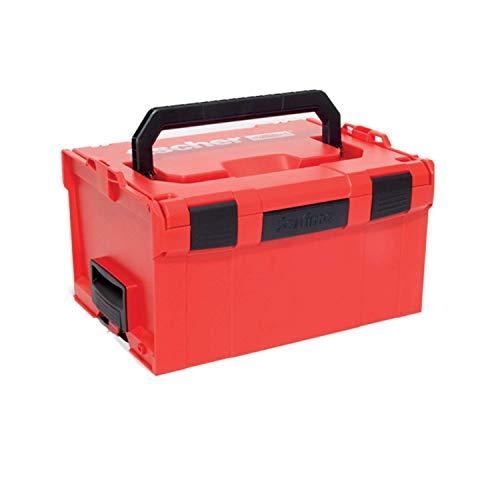 Fischer L-BOXX FLB 238 Valigetta Porta Attrezzi Impilabile e Agganciabile, Cassetta Utensili Espandibile, Vuota, Compatibile per Sortimo, 508138