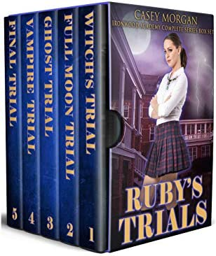 Ruby s Trials Ironwood Academy Complete Series Box Set product image