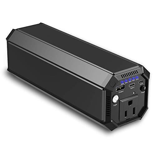 ポータブル電源 AC出力対応 モバイルバッテリー 31200mAh 大容量 正弦波 急速充電対応 車中泊 緊急・災害時バックアップ用電源 MacBook ノートパソコン