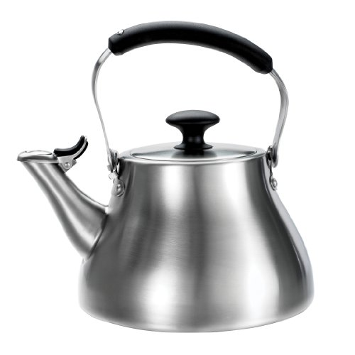OXO Good Grips Classic Tea Kettle, Brushed Stainless