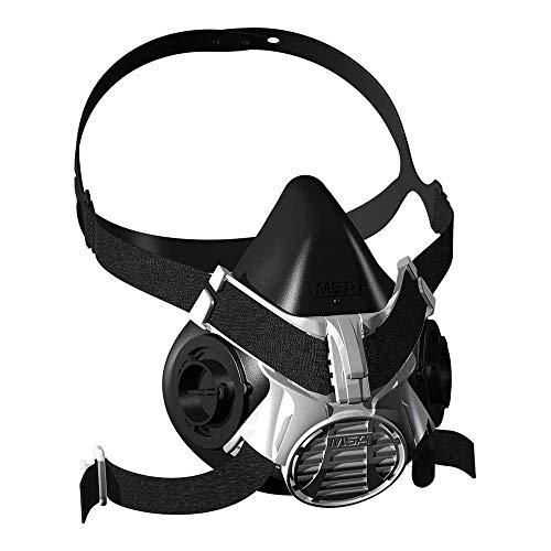Halbmaske MSA Advantage 400 | Komfortable Gasschutzmaske | Advantage 420 Größe: Mittel, Bajonett-Filteranschluss | EN 140