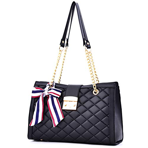 """Materials: Superior PU leather, high quality hardware Size: 11.8"""" L x 4.3""""W x 8.2""""H ( as the picture shows ) Easy Switch: Lock closure, easy for opening and closing while adding the security of the stuff inside INTERNAL: 1 side zipper pocket, 1 main ..."""