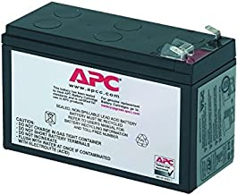 APC UPS Battery Replacement RBC17 for APC Models BE650G1, BE750G, BR700G, BE850M2, BE850G2, BX850M, BE650G, BN600, BN700MC, BN900M, and Select Others