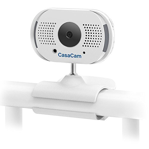 Purchase CasaCam BC100 Digital Wireless ClipCam, Add-on Camera for CasaCam BM100, Two-Way Audio, Aut...