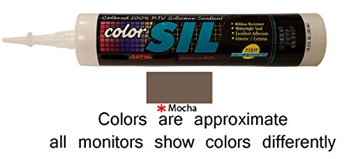 Color Matched Silicone Caulk - Southern Grouts & Mortar (39 Colors) (Mocha)