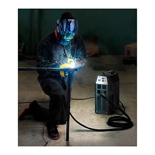Stamos Welding Plasmaschneider Plasmaschneidgerät Schweißgerät S-CUTTER 40 (14-40 A, 230 V, Einschaltdauer 60%, Schneidleistung bis 12 mm, digitale Schneidstromanzeige, 2T/4T) - 7