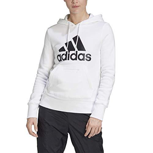 adidas W BOS OH HD Sudadera, Mujer, Blanco, S
