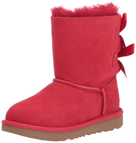 UGG T Bailey Bow Ii Boot, Ribbon Red, Size 7