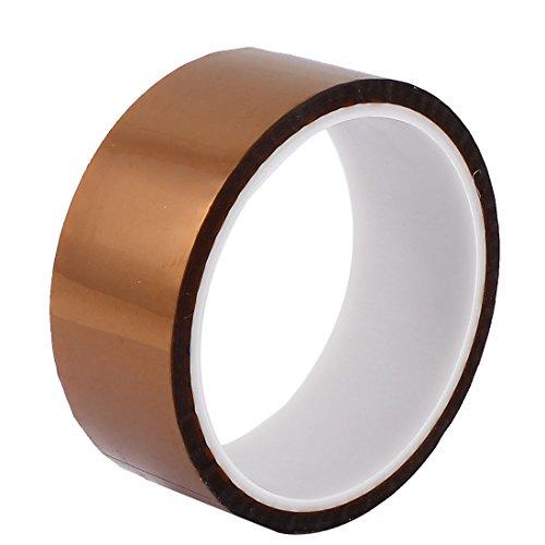uxcell絶縁耐熱テープ高耐熱テープポリイミドフィルム製ロールタイプ接着剤テープ