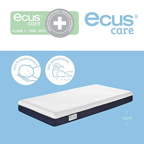 Ecus Kids, Colchón de cuna 117x57 Ecus Care es el colchón de cuna pa