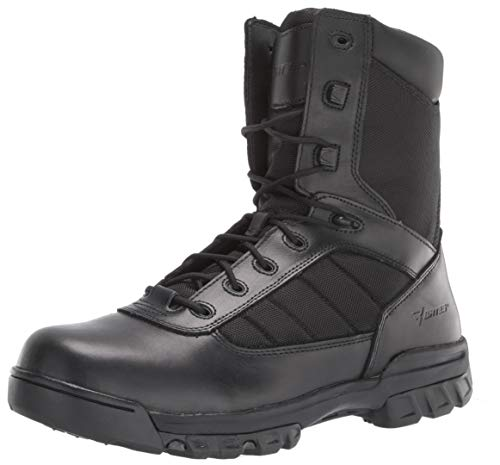 "Bates Men's 8"" Ultralite Tactical Sport Side Zip Military Boot, Black, 7 M US"