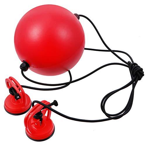 BESPORTBLE 1 Set Boxing Reflex Ball 1.5m Boxen Training Ball mit Pumpe Reflexball Speedball Punchingball Doppelendball für Boxsack Boxentraining Geschwindigkeit Training