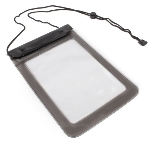 Housse étanche noire de protection pour Kidz Delight Smartphone, Disney S13556 Reine des Neiges, Fisher-Price bhb90, Baby Smartphone Vtech, smartphones/téléphones pour enfants - idéal pour les vacances, par DURAGADGET