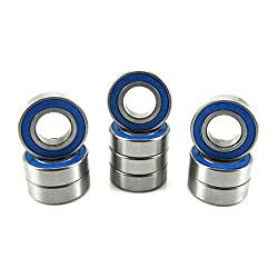 6700-2RS Rubber Double Sealed Ball Bearing BLUE 6700RS 10x15x4 mm 10 PCS