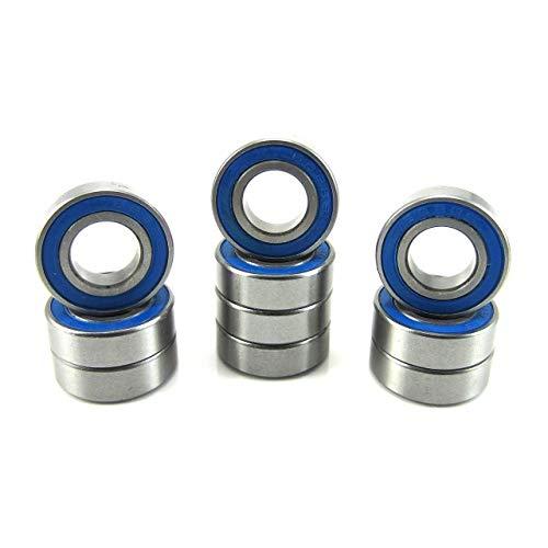 Traxxas Part 6893X Aluminum adapter Ball bearing blue rubber sealed Slash New