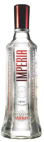 Imperia Luxury Russian Vodka, 8-fach destilliert, 1 Liter, 40% vol.