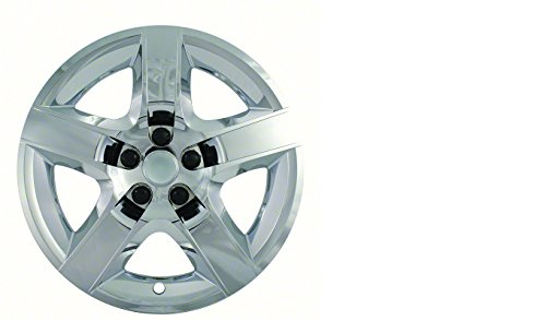 CCI IWC435-17C 17 Inch Bolt On Chrome Finish Hubcaps - Pack...