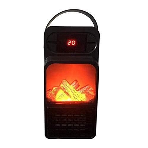 XIANGAI Calefactor Calentador de pequeños electrodomésticos de Control Remoto Mini Espacio Calentador eléctrico Personal portátil Ventilador for Oficina y Hom.