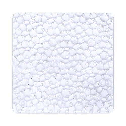 Bligli tappetino antiscivolo tappetino da bagno Bright Fancy fumetto stampato tappeti da bagno con ventosa per bambini Clear Regali di Natale per la famiglia