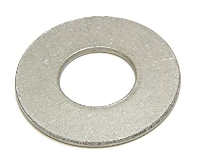 Stainless Flat Finish Washer - Choose Size, By Bolt Dropper, 18-8 (304) Stainless Steel
