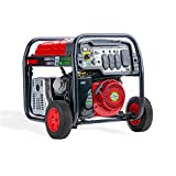 A-iPower SUA12000E 12,000-Watt Gasoline Powered Generator with Electric Start,...