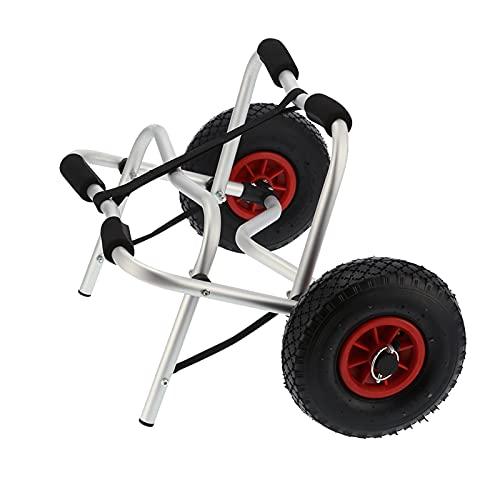 Yosoo Health Gear Chariot de Kayak à Deux Jambes, Chariot de canoë en Aluminium pour...