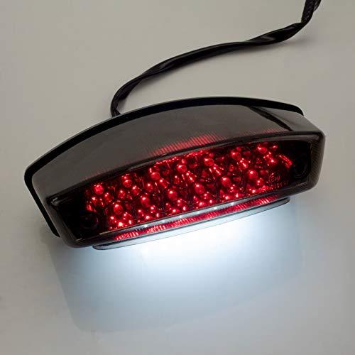 LED Rücklicht mit E-Nummer passend für Ducati Monster 600 750 800 1000 916 996 S4R S4RS S2R dunkel