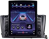 Android 9.1 Pantalla Vertical 9.7 Pulgadas Coche Estéreo Multimedia Player para Toyota T27 Avensis 2009-2015 Soporte GPS/Transporte/Control de Volante/DSP FM, etc.