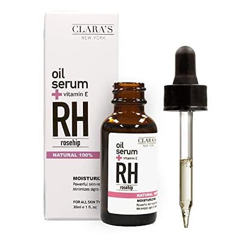 CLARA'S NEW YORK Moisturizing Rosehip Facial Oil Serum 30ml