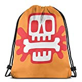 Yuanmeiju A Good Meal Shoulder Bolsa con cordón Backpack String Bags School Rucksack Gym Sport Bag Lightweight