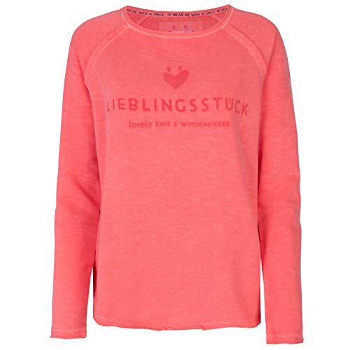Lieblingsstück Damen Sweatshirt CathrinaEP cantaloup orange - XL