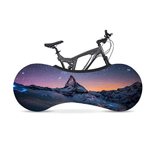 Kelsport Funda Elástica Universal de Bicicletas para Almacenamiento en Interiores (Paisaje)