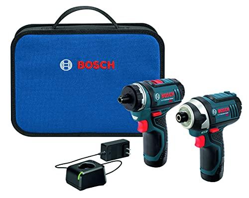 Bosch CLPK27-120 12V Max 2-Tool Combo Kit (Drill/Driver and Impact Driver)...