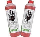 Purivita - Flüssiger Entkalker mit 750 ml - kompatibel mit allen Herstellern 2 Flaschen