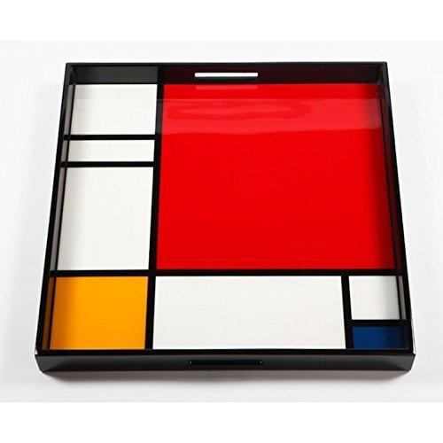 Arteum - Plateau De Service Mondrian Grand Modèle