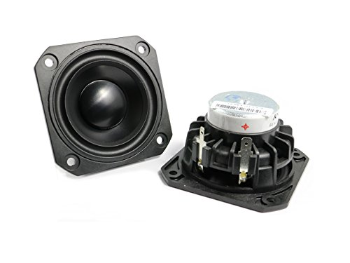 Peerless PLS-P830985 フルレンジスピーカーユニット2.5インチ(64mm) 4Ω/MAX60W [スピーカー自作/DIYオーディオ]/1個[並行輸入品]