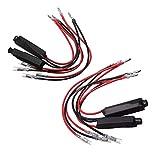 Mintice 4 X 12V 10W Resistencia de Carga de la línea para Motocicleta señal de Giro LED Intermitente Arreglar Error reparación indicador Controlador