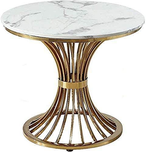 LJYY Mobili da Tavolo da Soggiorno Tavolino da Salotto in Ferro Balcone Tavolino da caffè Piccolo Divano Moderno Semplice Mobili per la casa 70 * 80 cm