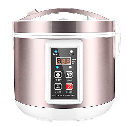 4YANG Fermentador de ajo negro 5L Máquina de fermentación inteligente todo en...