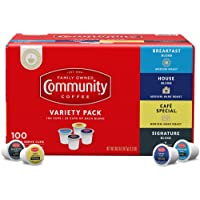 100-Count Community Coffee 4-Blend Variety Pack Coffee Pods